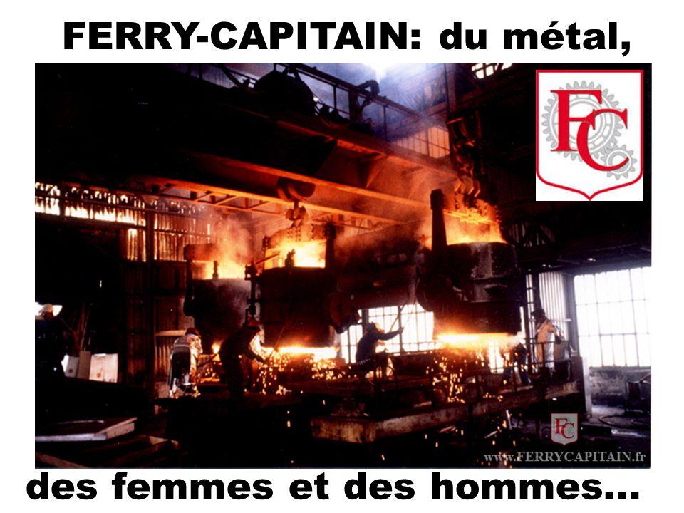 Les pièces des machines des clients de Ferry Capitain