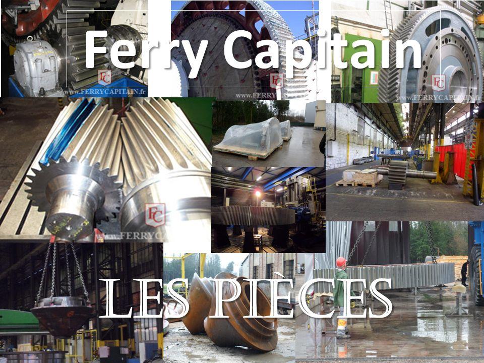 Ferry Capitain Les pièces
