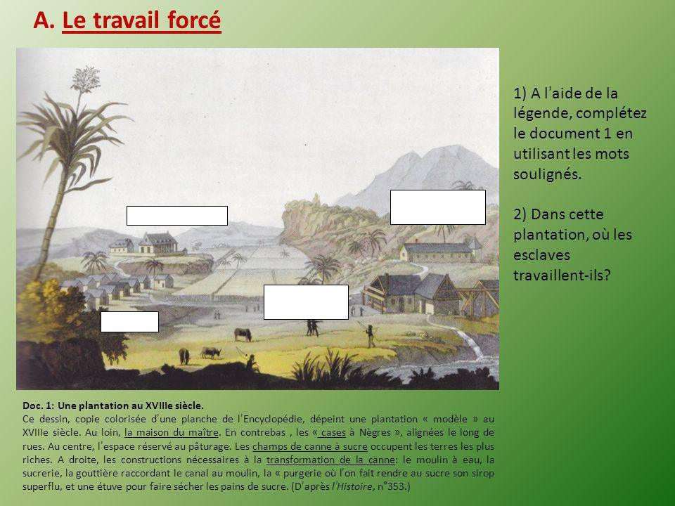 I.La vie desclave aux Amériques (1 ère séance) (Les élèves sont invités à tenter de formuler la problématique de la séance) Quest-ce quêtre esclave au