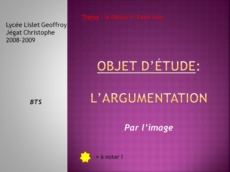 Par limage Lycée Lislet Geoffroy Jégat Christophe 2008-2009 BTS = à noter .