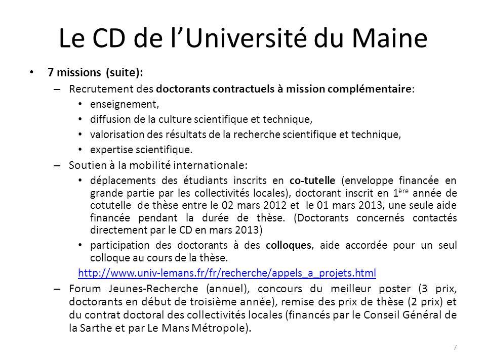 Soutien à la mobilité internationale : appel à propositions « Ecoles doctorales » du PRES Volet 2 : structuration des coopérations internationales des laboratoires par la mobilité internationale des doctorants.