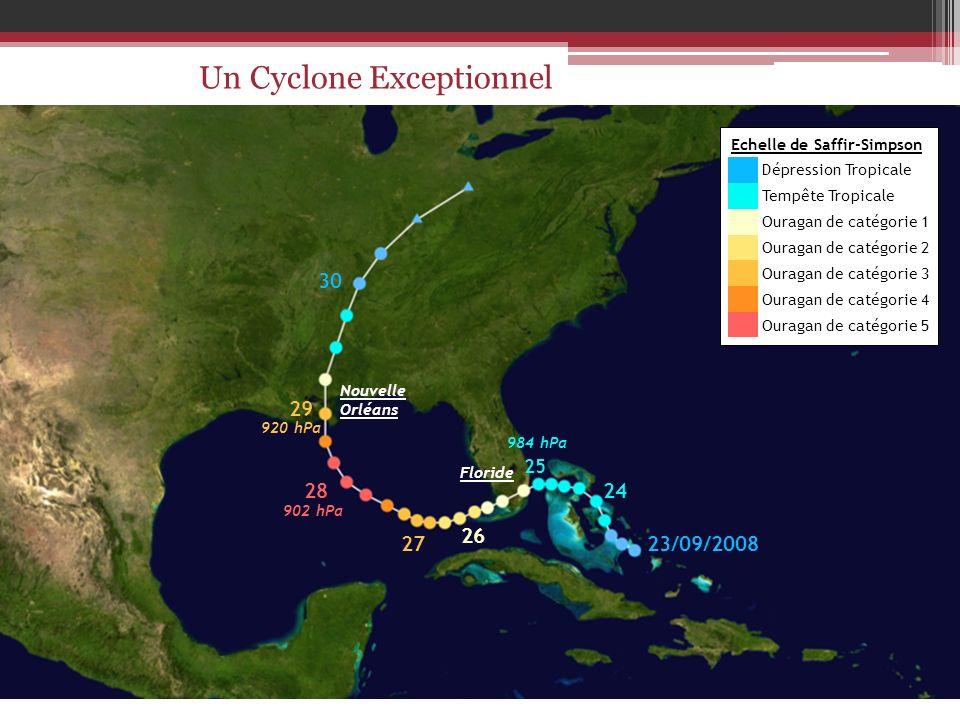 Echelle de Saffir-Simpson Dépression Tropicale Tempête Tropicale Ouragan de catégorie 1 Ouragan de catégorie 2 Ouragan de catégorie 3 Ouragan de catég