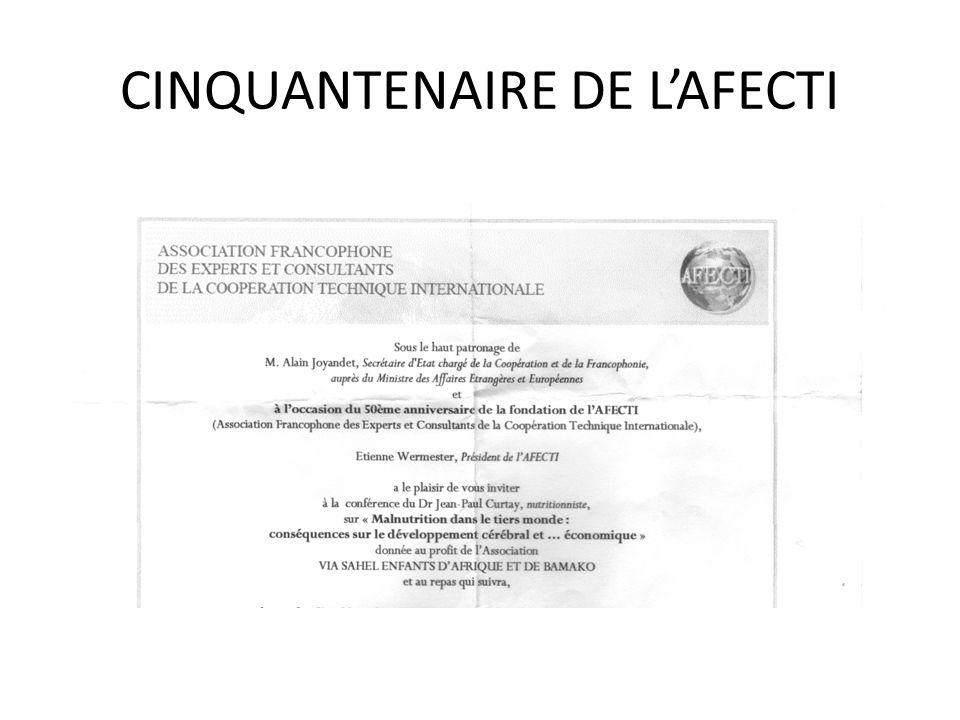 CINQUANTENAIRE DE LAFECTI