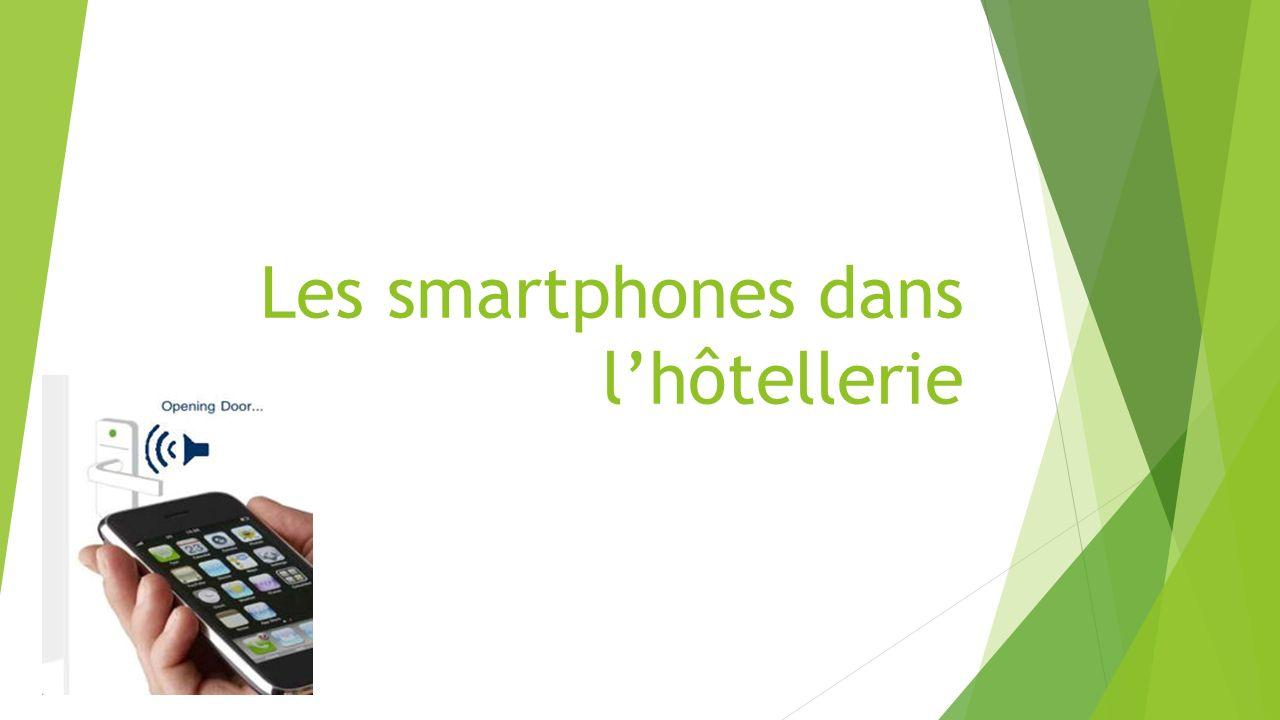 Les smartphones dans lhôtellerie