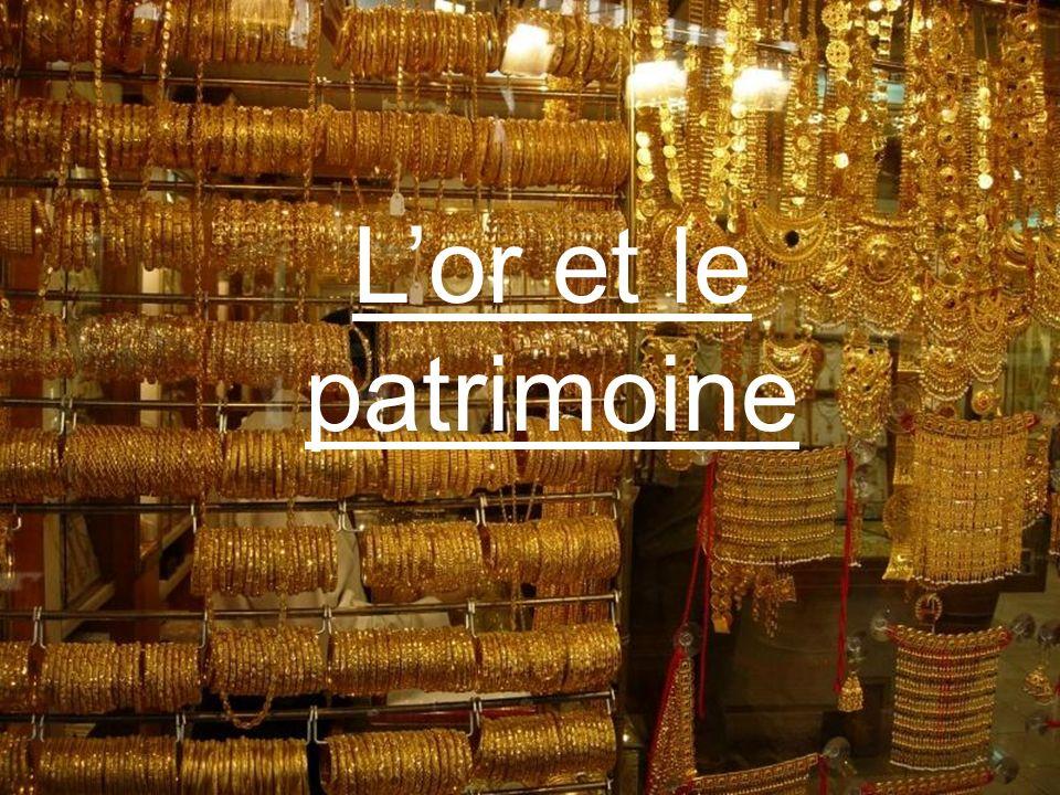 Le plan I.Or, fonction patrimoniale et sociologique A) Qu est-ce que l or B) L or et la société II.