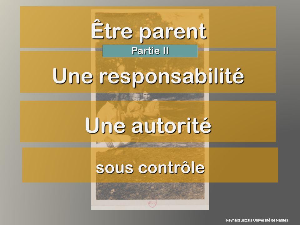 article 371-1 du Code civil : « L autorité parentale est un ensemble de droits et de devoirs ayant pour finalité l intérêt de l enfant.
