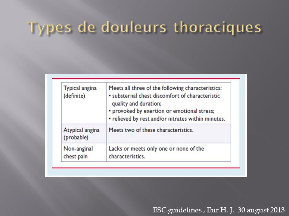 ESC guidelines, Eur H. J. 30 august 2013