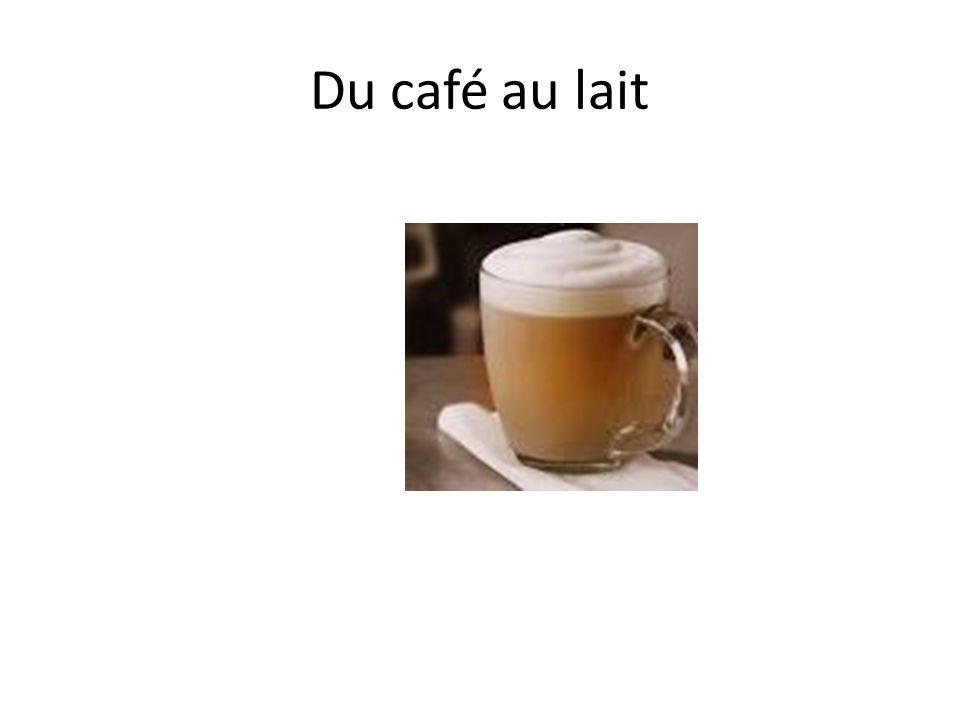 Du café au lait