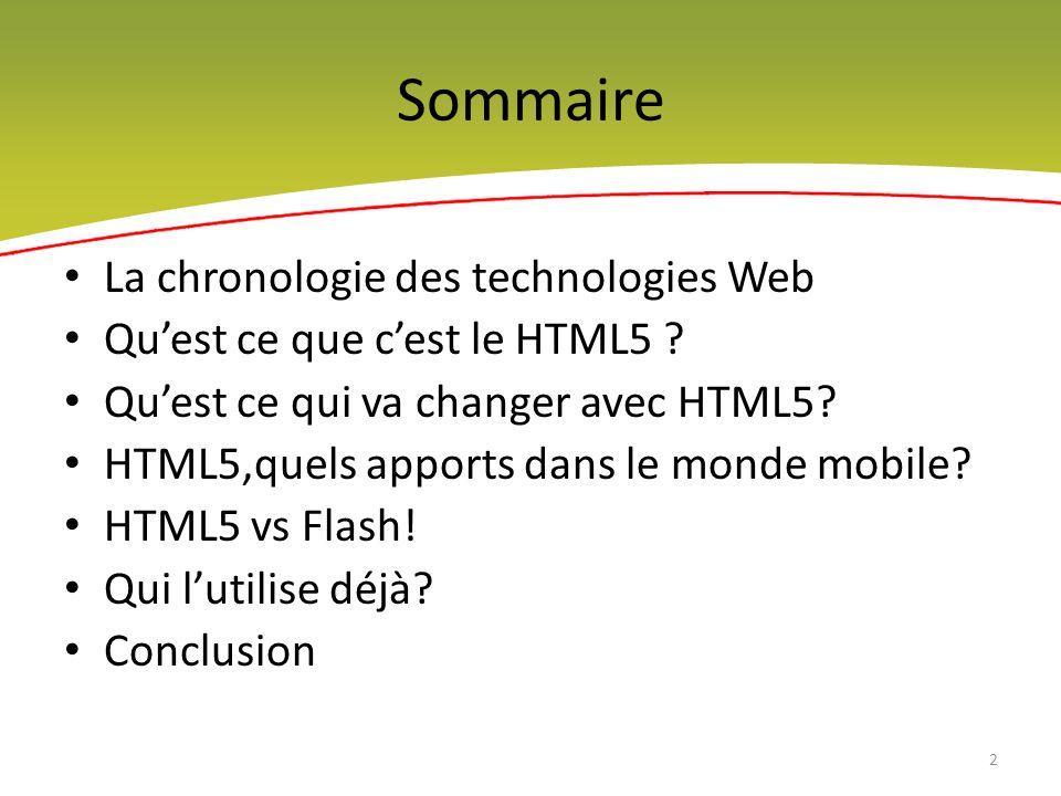 La petite histoire des technologies web 3