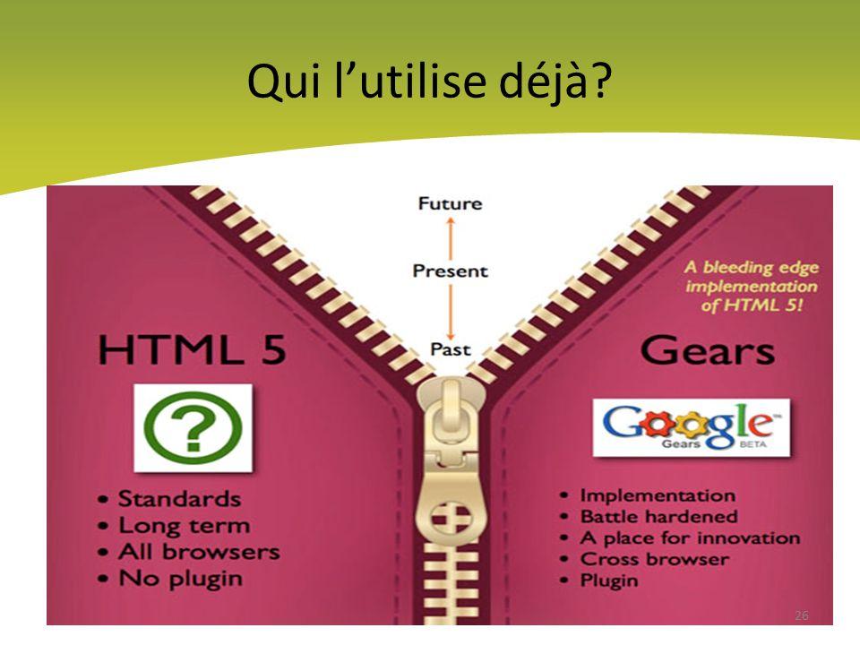 Google et Apple ont déjà adopté HTML5 27