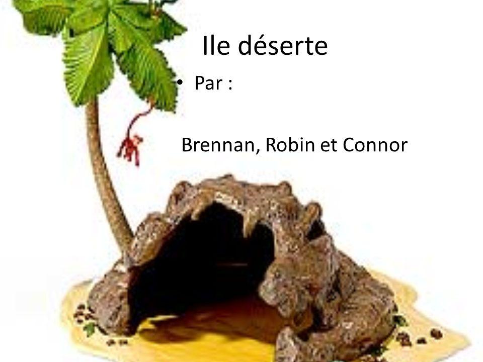 Ile déserte Par : Brennan, Robin et Connor