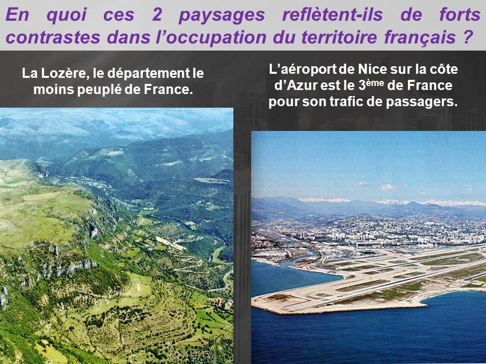 Il existe certains déséquilibres sur le territoire national: dans ce contexte, quel est le rôle de laire urbaine parisienne dans lorganisation du territoire français .