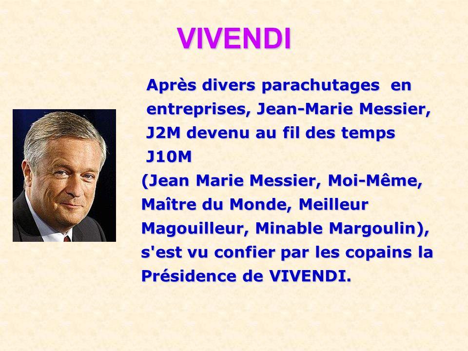 Il ne faut pas oublier de préciser qu'après son licenciement du Crédit Lyonnais, il fut nommé par le gouvernement : Président du