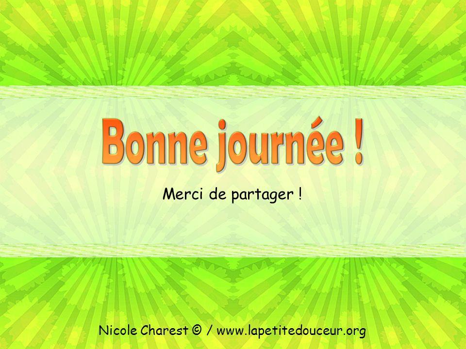 Conception : Nicole Charest © / nicolecharest@videotron.canicolecharest@videotron.ca Texte : Ray, Veronica. Choisir dêtre heureux, p. 31 Musique : The
