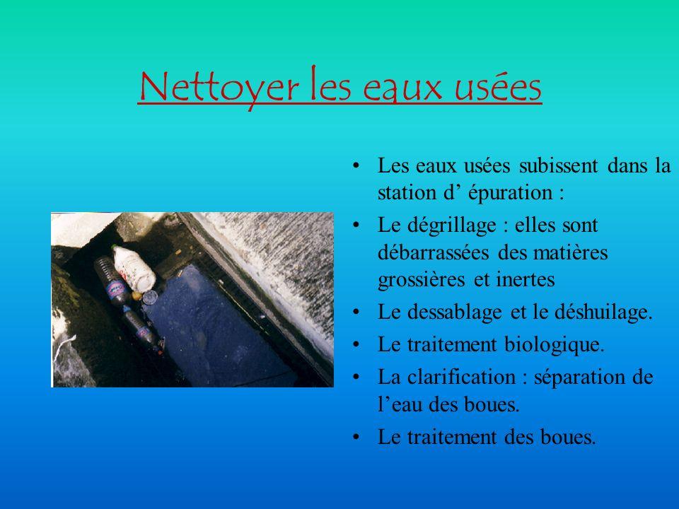 L auto-épuration un milieu vivant Leau de mer ou de rivière, riche en espèces animales et végétales, transforme et élimine naturellement ( en totalité