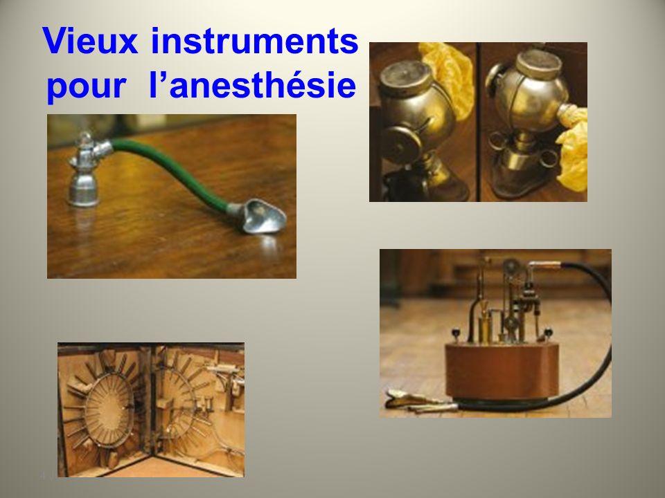 4 Juin 2010 HISTOIRE de L'ANESTHESIE En 1860, Claude Bernard propose lanesthésie combinée en associant morphine et chloroforme. Cette association est