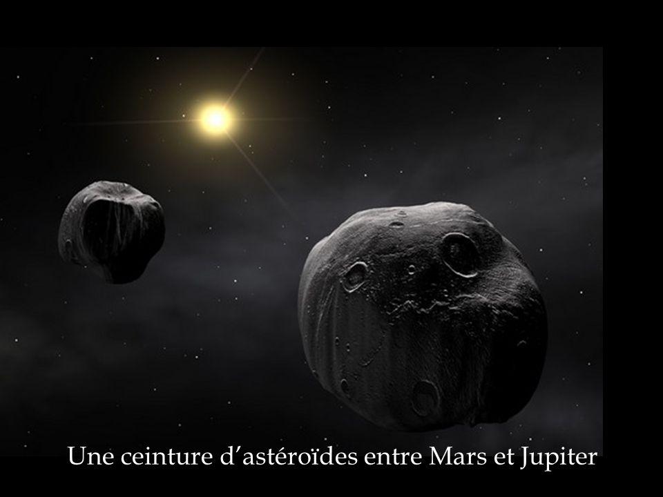Une ceinture dastéroïdes entre Mars et Jupiter