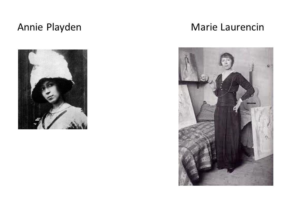 Annie Playden Marie Laurencin
