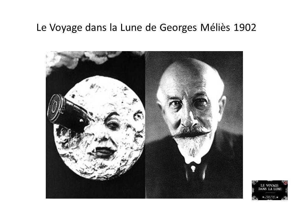 Le Voyage dans la Lune de Georges Méliès 1902