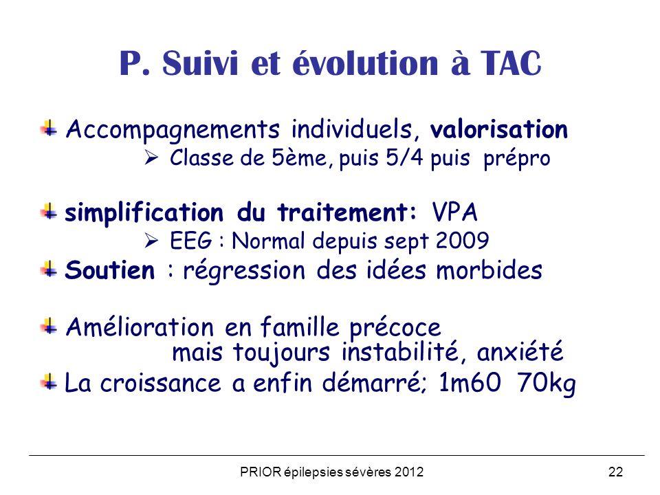 PRIOR épilepsies sévères 201222 P.