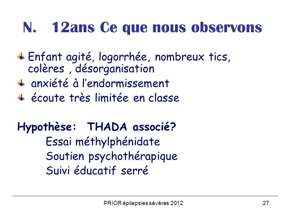 PRIOR épilepsies sévères 201227 N.