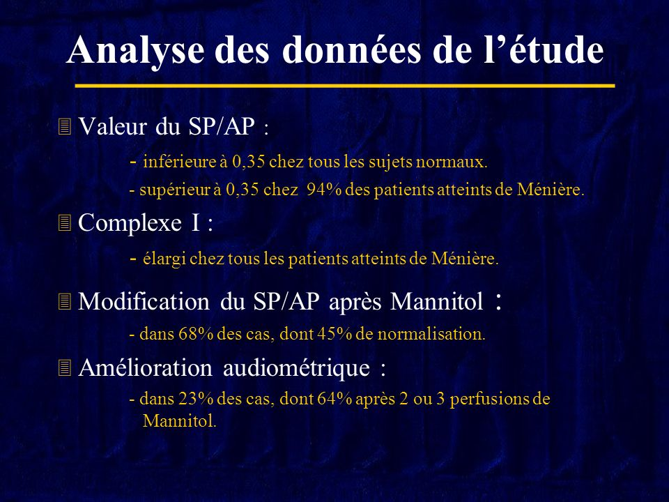 Conclusion Electrocochléographie juxta-tympanique : Technique simple, fiable et non invasive.
