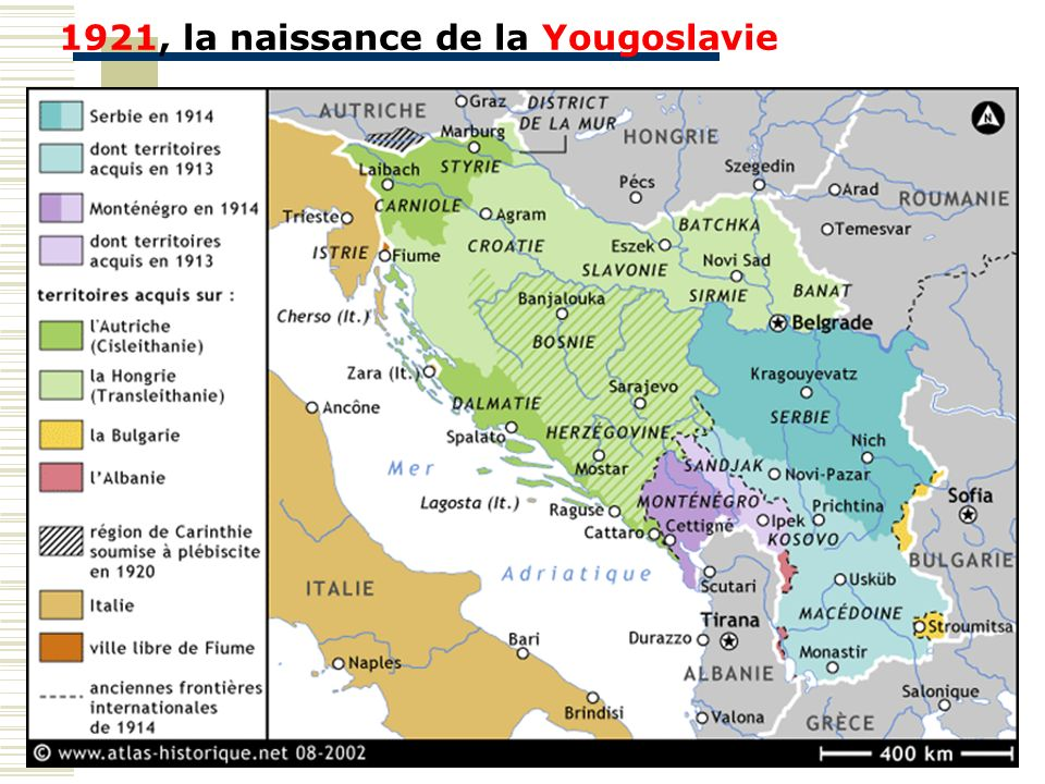 1921, la naissance de la Yougoslavie