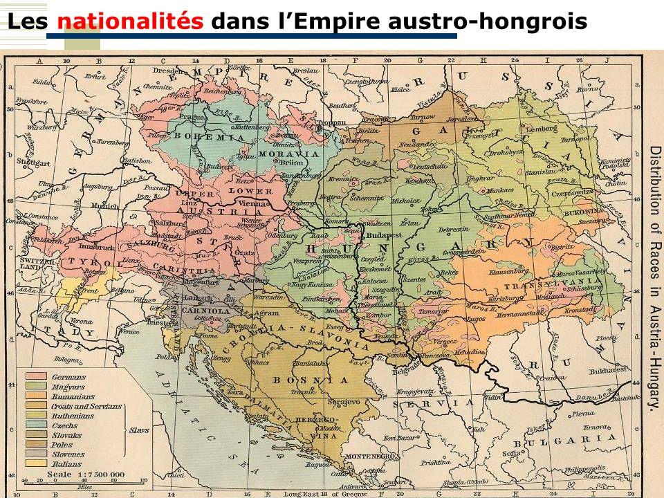 Les nationalités dans lEmpire austro-hongrois
