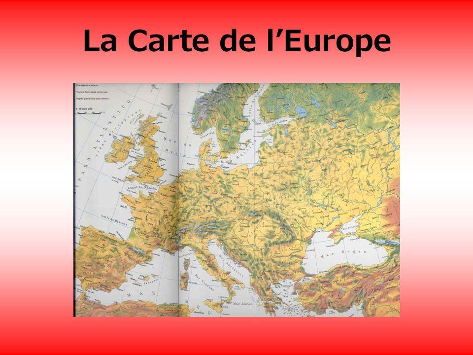 La Carte de lEurope