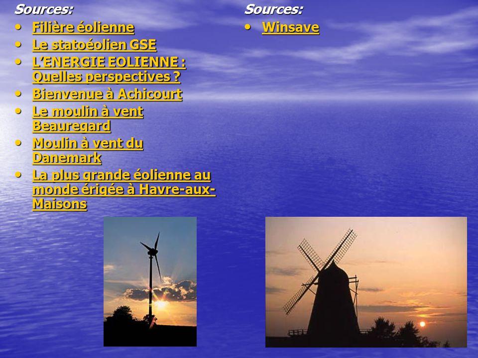 Sources: Filière éolienne Filière éolienne Filière éolienne Filière éolienne Le statoéolien GSE Le statoéolien GSE Le statoéolien GSE Le statoéolien G