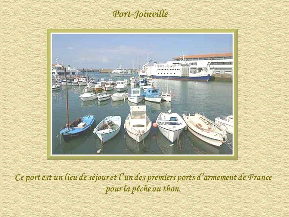 Port-Joinville Ce port est un lieu de séjour et lun des premiers ports darmement de France pour la pêche au thon.