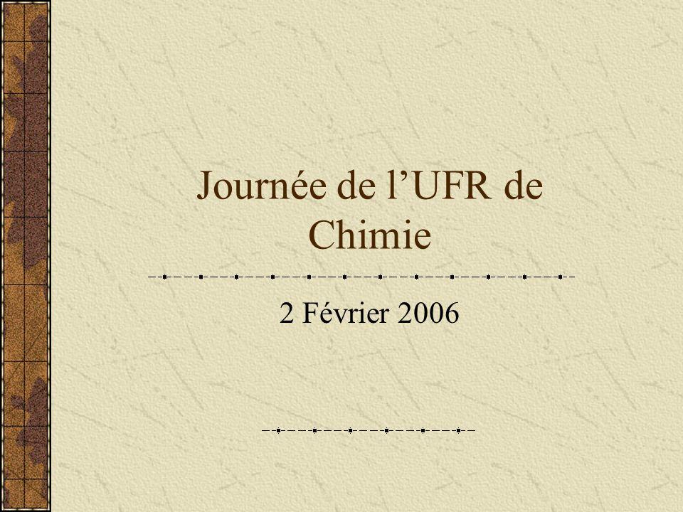 Journée de lUFR de Chimie 2 Février 2006
