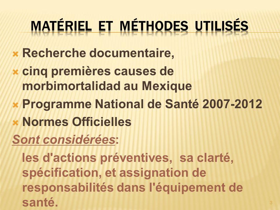 24 le Programme National de de Santé de 2007 - 2012 considère à la Prévention avec ses actions spécifiques comme la sont l Éducation pour la Santé et la Promotion de la Santé.