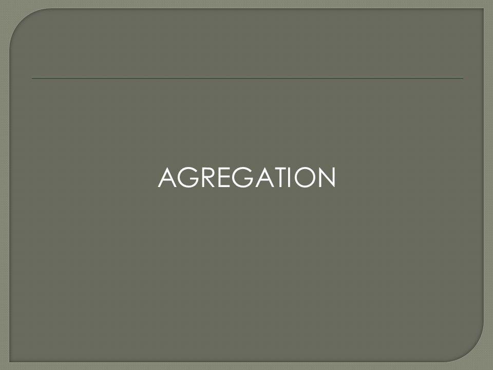 AGREGATION