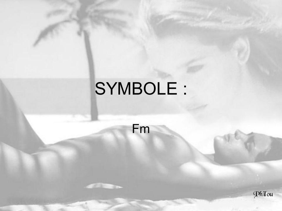 SYMBOLE : Fm