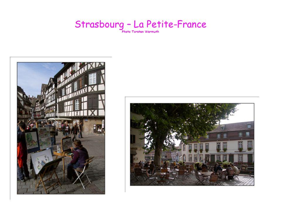 Strasbourg Le long de lIll La Petite France Photo de Torsten Wermuth