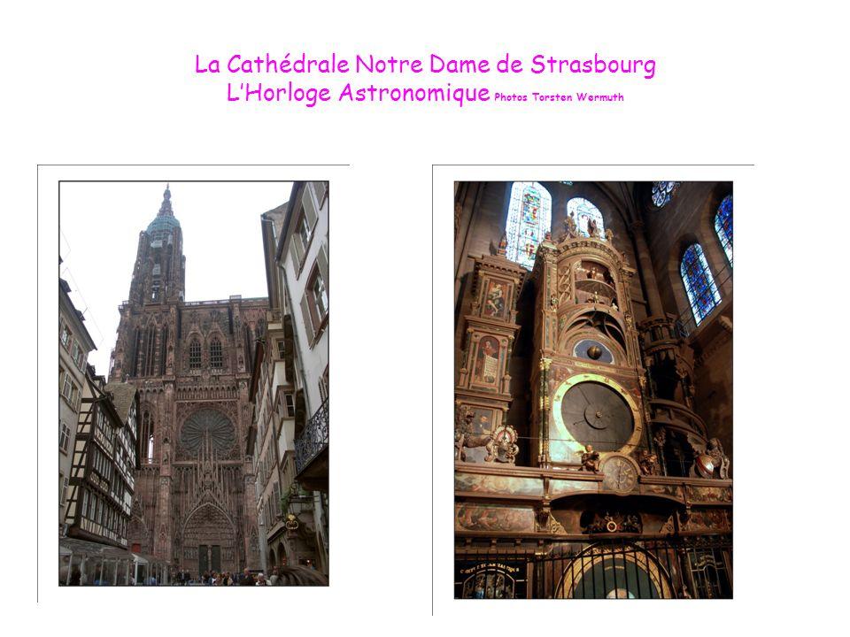 Le Pilier des Anges de la Cathédrale de Strasbourg Lhorloge Astronomique de la Cathédrale