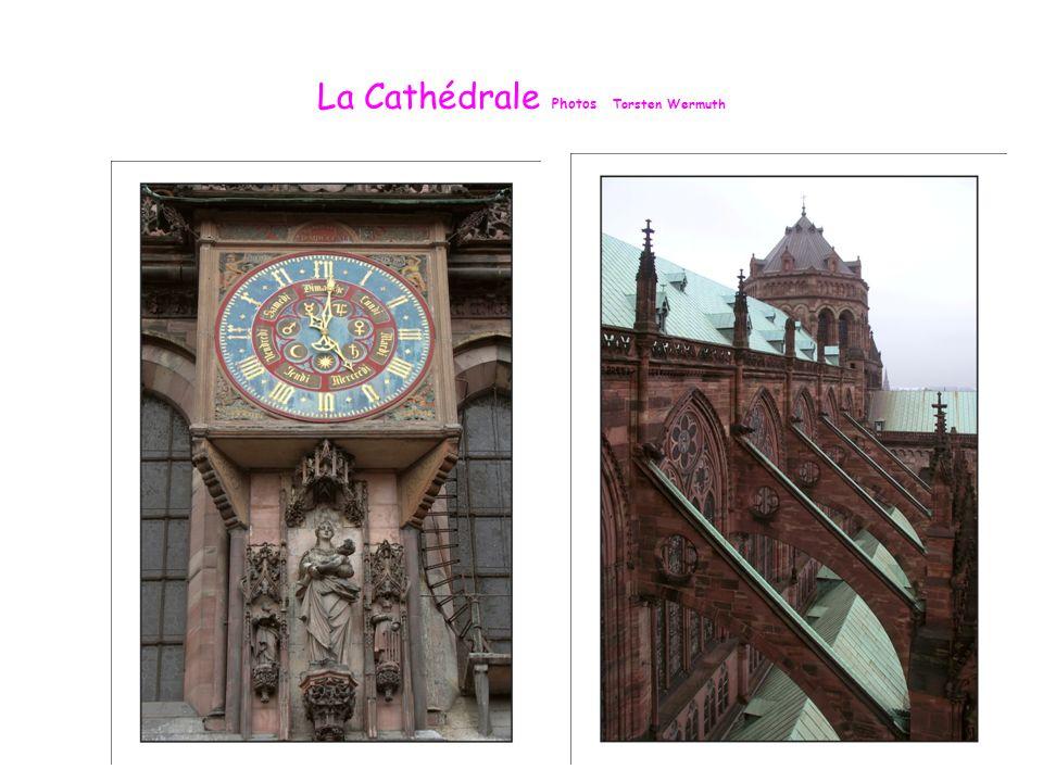 Façade de la Cathédrale de Strasbourg Photo Angèle Lapp