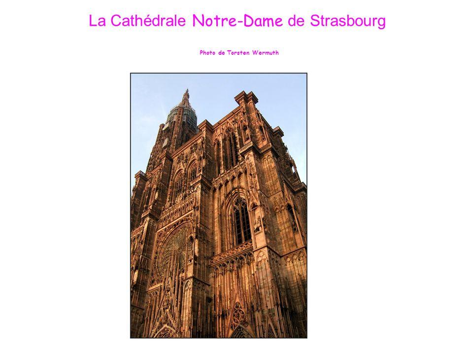 La Cathédrale Notre-Dame de Strasbourg Photo de Torsten Wermuth