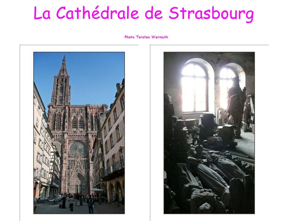 La Cathédrale Notre Dame de Strasbourg Lhorloge Astronomique Photo Torsten Wermuth