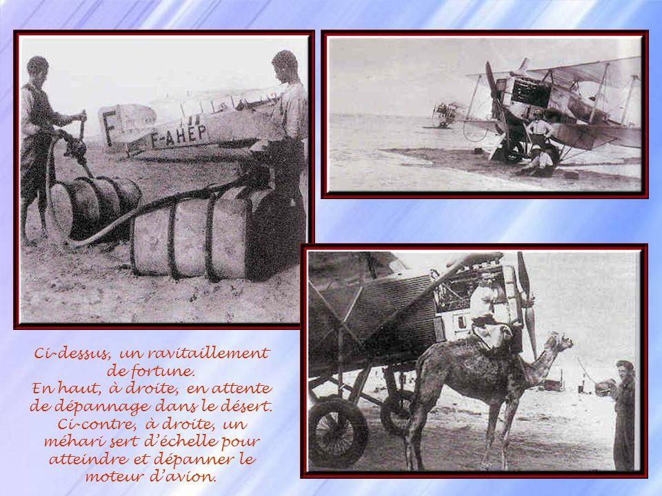 Il existe une route mythique : Toulouse-Santiago du Chili soit plus de 13 000 km et des dizaines dheures de vol, une quinzaine descales. A la grande é
