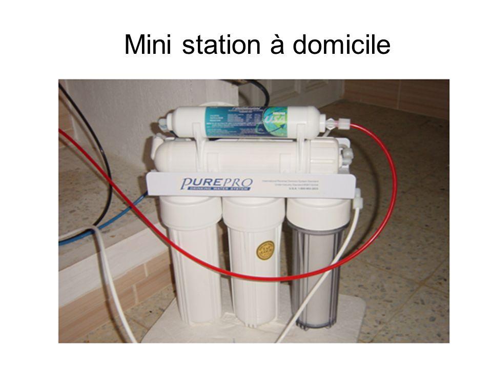 Mini station à domicile