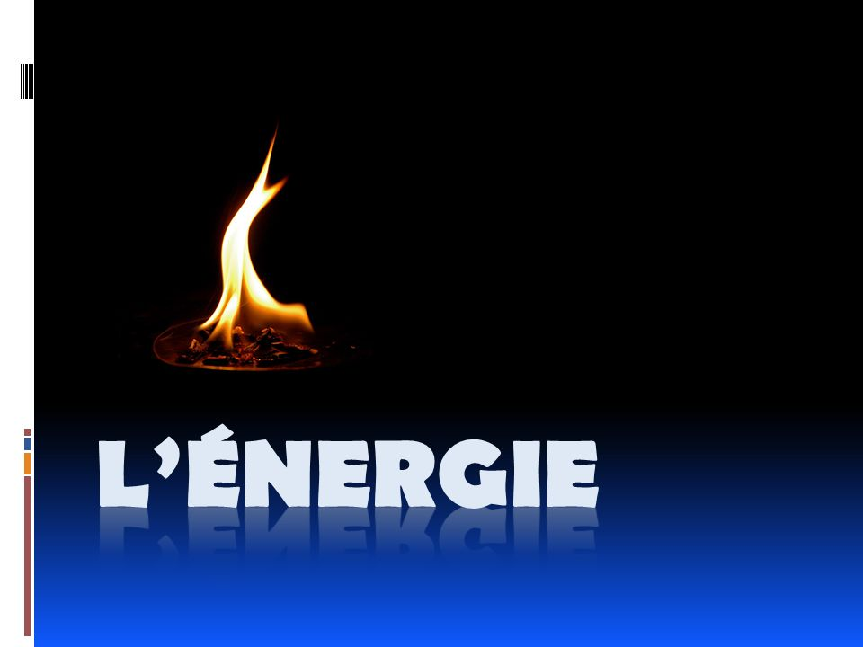 Les différents visages de lénergie (les formes) Lénergie élastique … … celle quon emmagasine dans un objet quon étire ou quon compresse.