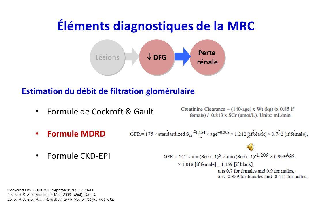 Marqueurs datteinte rénale Microalbuminurie Albuminurie peu importante et non détectée par les méthodes traditionnelles de mesure ou de dépistage (ban