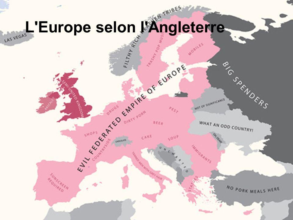 L'Europe selon l'Angleterre