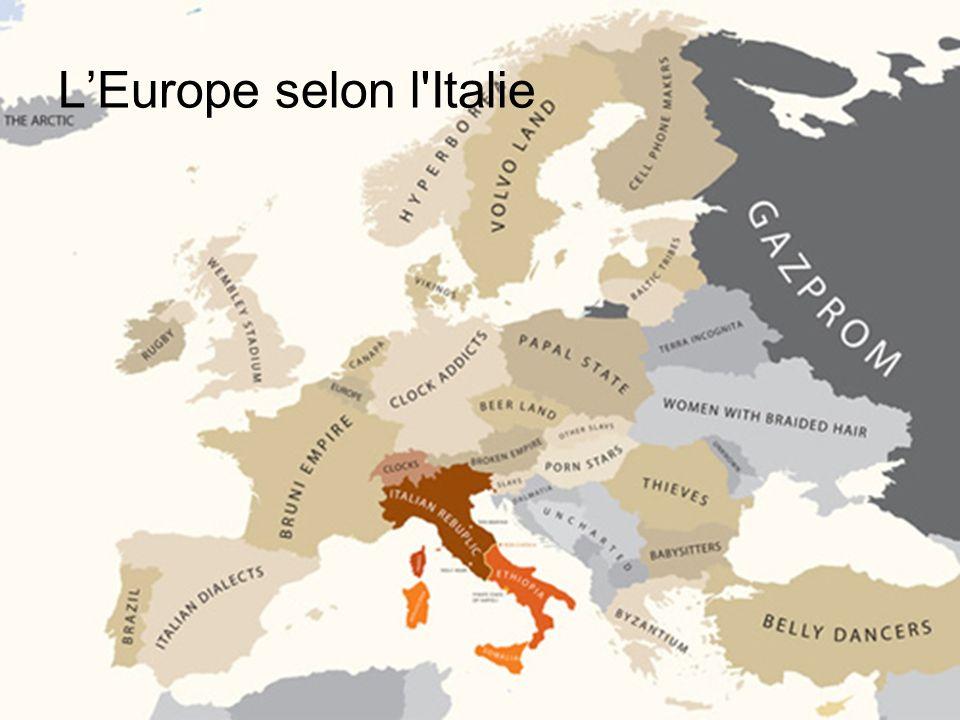 LEurope selon l'Italie