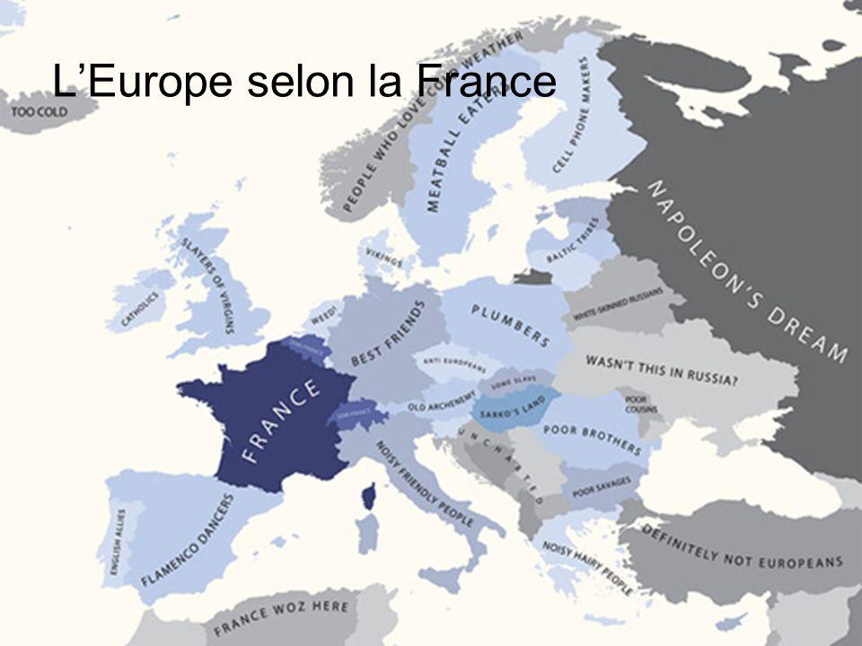 LEurope selon la France