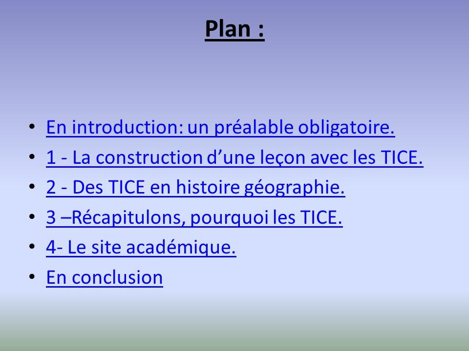 1 Un préalable obligatoire : les programmes et les fiches daccompagnement.