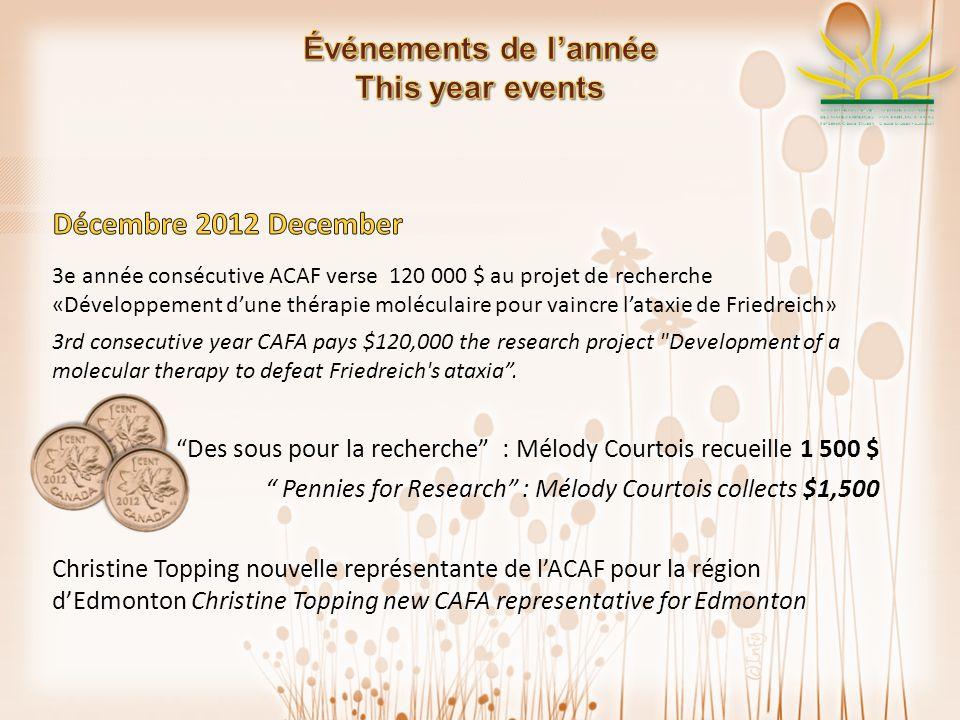 Création dun vidéo promotionnel de lACAF par David Chaumel, réalisateur bénévole CAFAs new promotional video by David Chaumel, volunteer film-maker