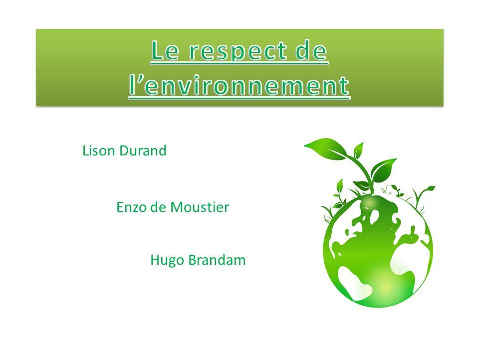 Lison Durand Enzo de Moustier Hugo Brandam